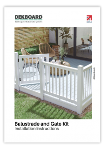 DekBoard - Balustrade & Gate Kits Installation Guide thumbnail